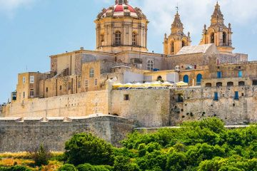 Mdina, fortress on a hill
