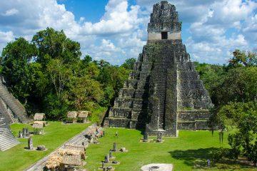 ancient mayan ruins in Guatemala