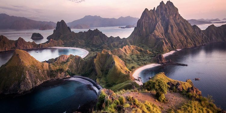 Padar Island in Indonesia