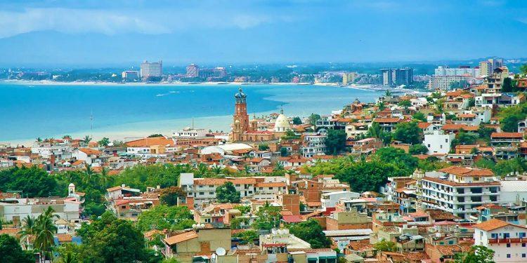 cityscape in Mexico