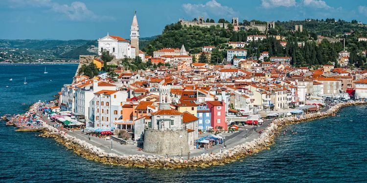 Town on the coast of Slovenia