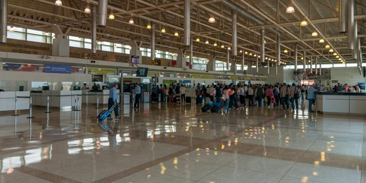 Inside Caracas Simón Bolívar International Airport, Venezuela