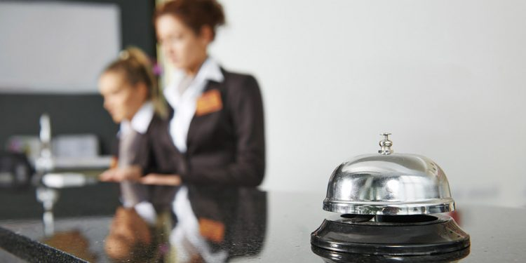 hotel concierge and bell
