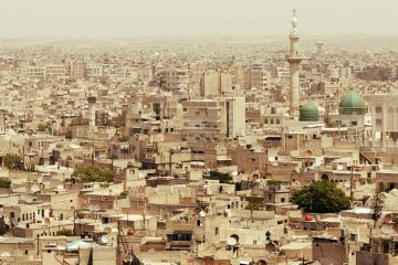 the city of aleppo, syria