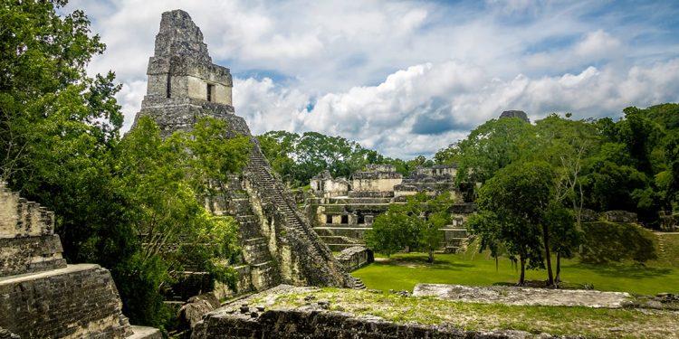 Citadel at Tikal in Guatemala