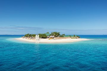 Small island off Fiji