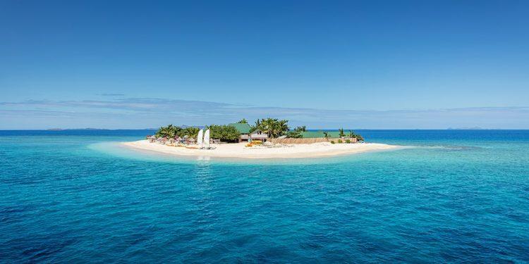 Small island off Fiji