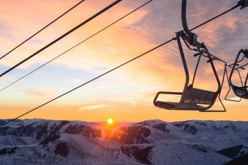 Chairlift Sunrise at Sun Valley, Idaho