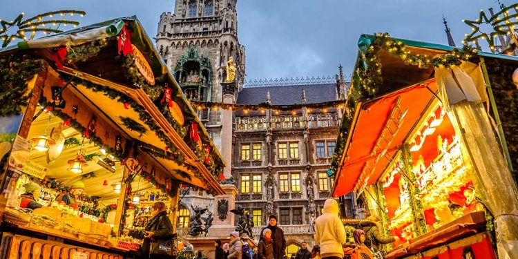 Christmas market in Munich