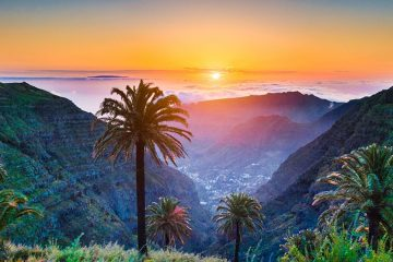 Sunset on Tenerife, Canary Islands