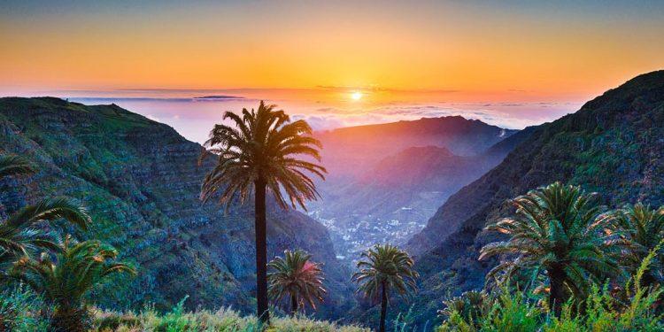 Sunset on Tenerife, Canary Islands