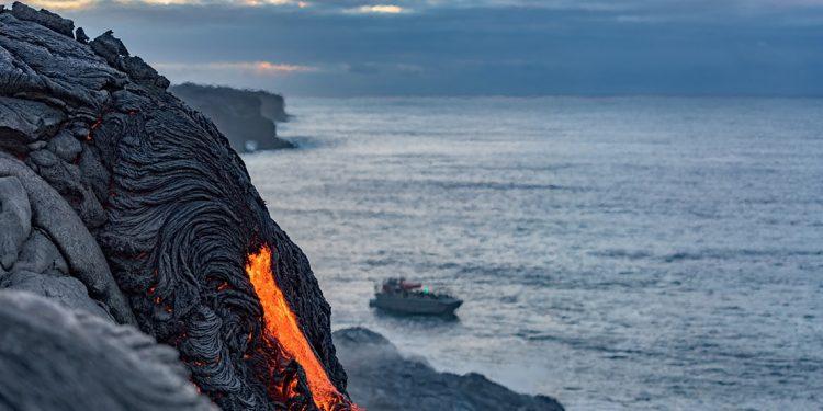 Lava at Hawaii Volcanoes National Park