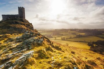 The Church of St Micheal de Rupe on Brentor, Dartmoor National Park