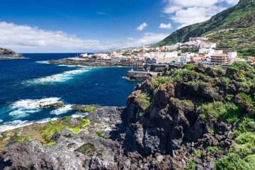 View of Garachico in Tenerife
