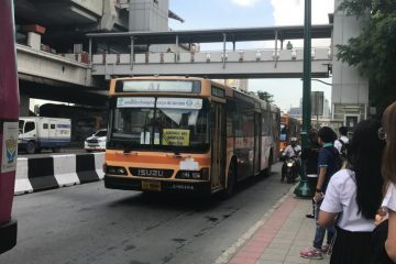 A bus in Bangkok