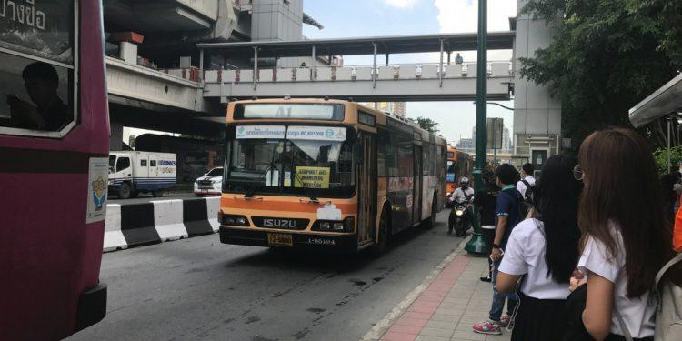 A bus in Bangkok
