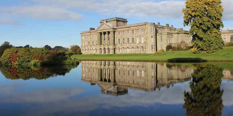 Lyme Park overlooking water