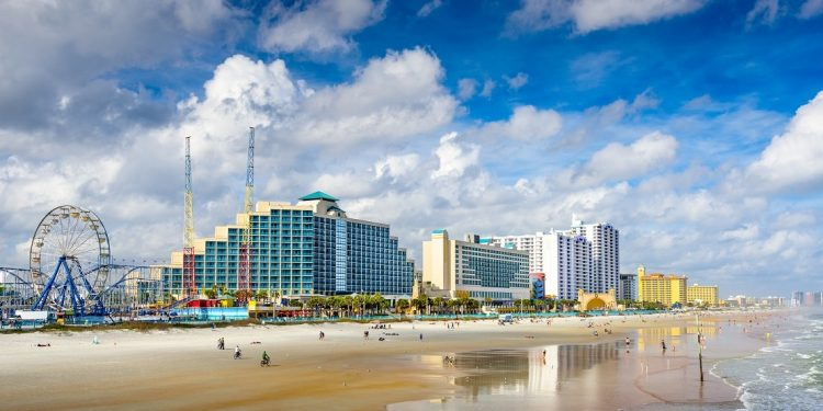 A Daytona Beach, Florida, Skyline