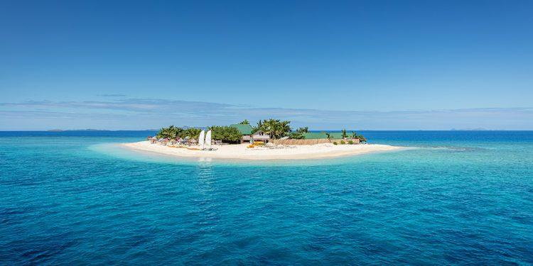 Island in ocean