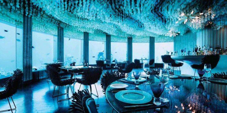 Subsix restaurant at Niyama Maldives