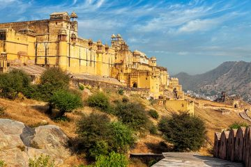 Outside of Amer Fort
