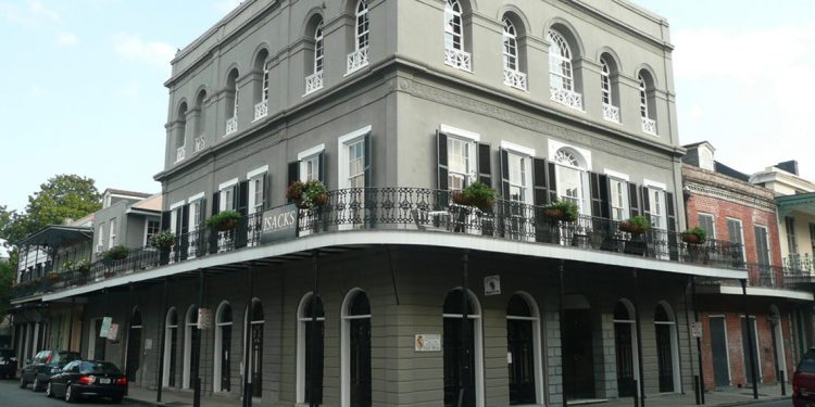 Exterior of LaLaurie Mansion