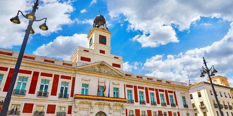 Real Case de Correos on Madrid