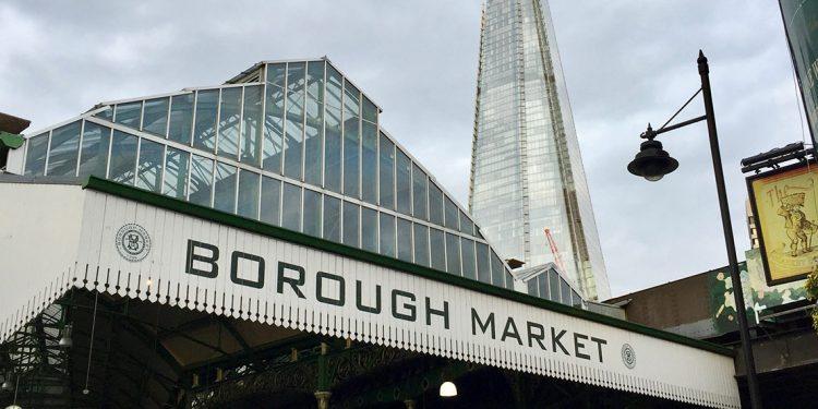Sign for Borough Market