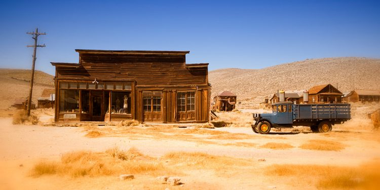 Abandoned store and truck