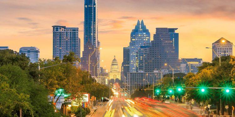 Street in Austin, Texas