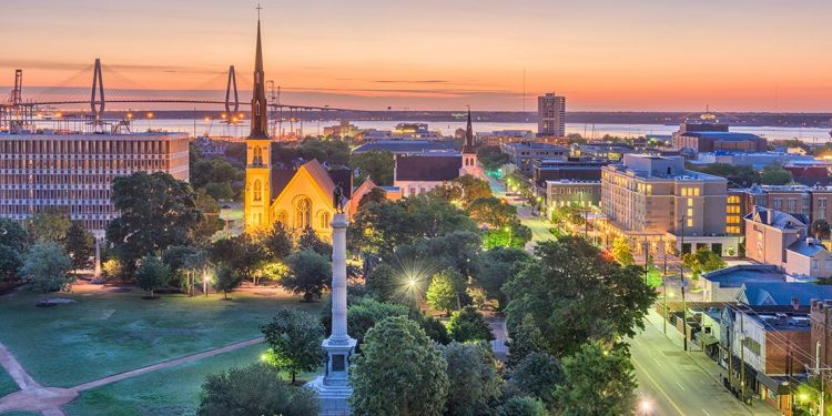 Overlooking Charleston, South Carolina