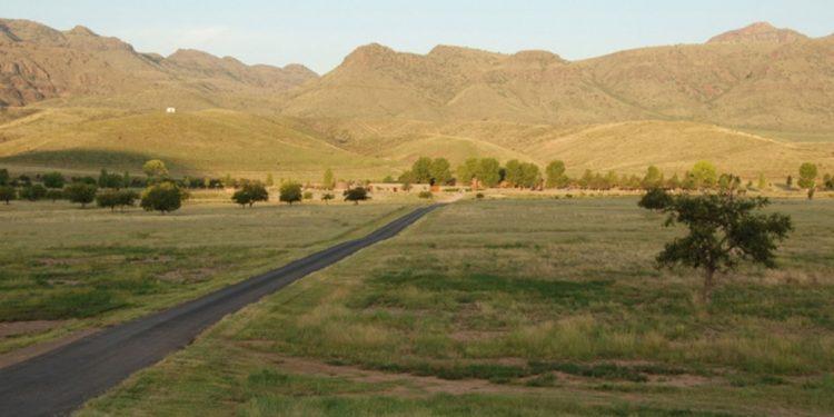 Mountains near Cibolo Creek Ranch
