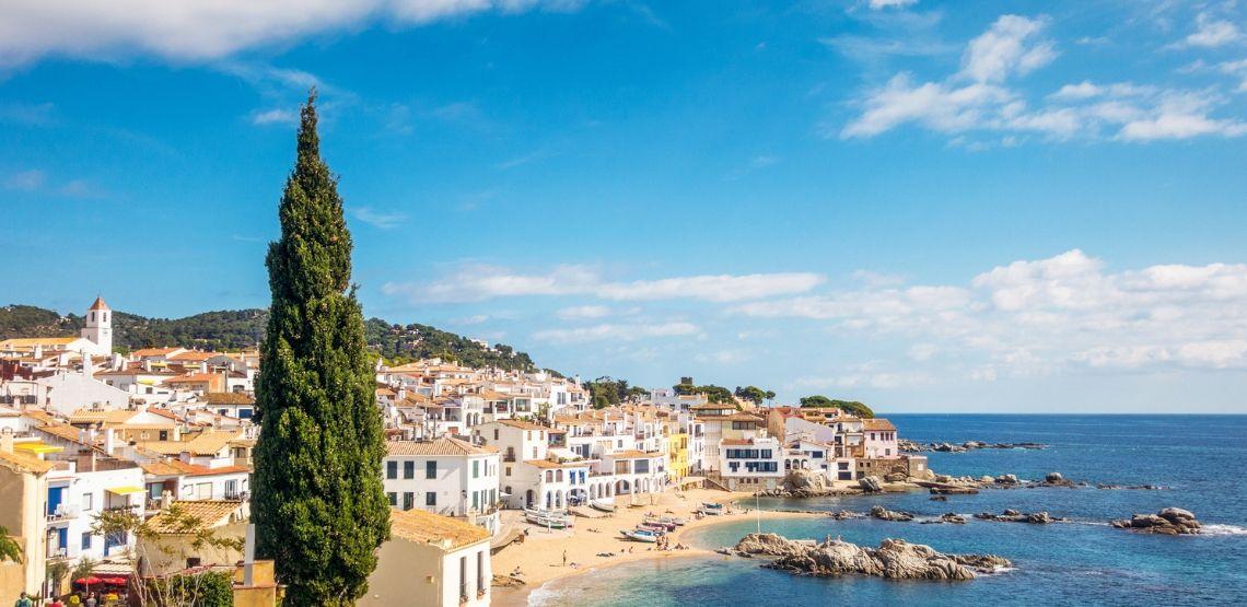 Seaside town of Calella de Palafrugell