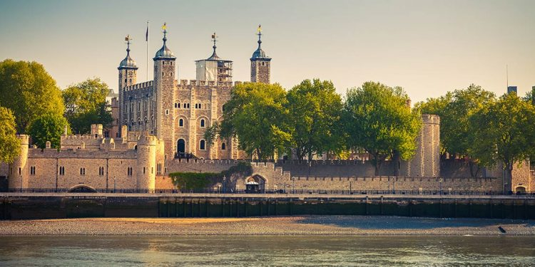 The Tower of London from the Thames