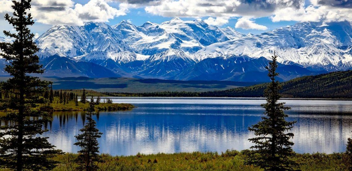 Alaska landscape.
