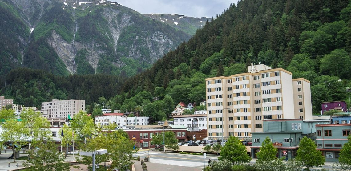 The town of Juneau.