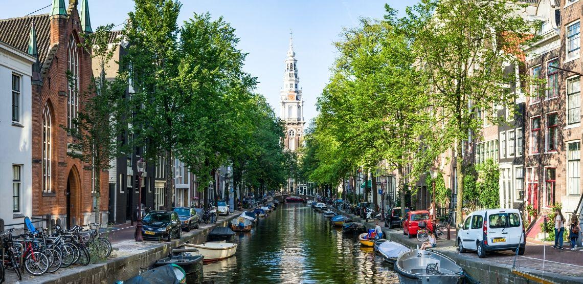 The Netherlands waterways.