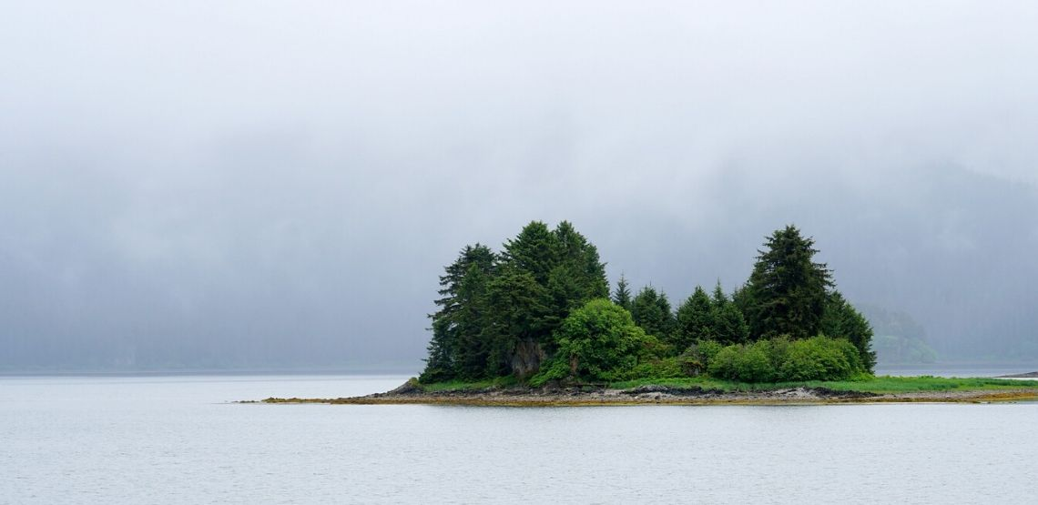 The Inside Passage landscape.