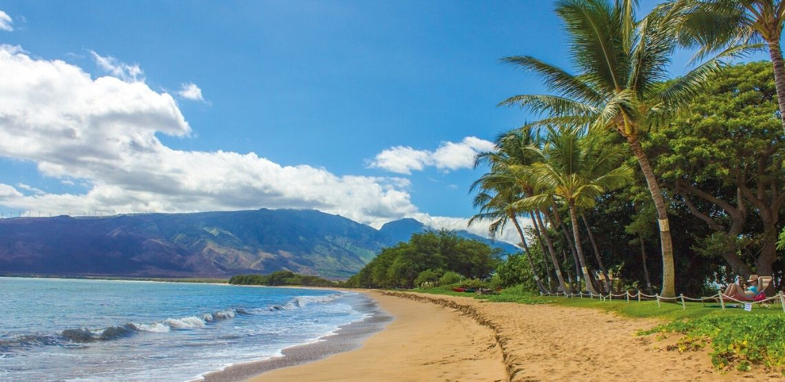 Hawaii beach.