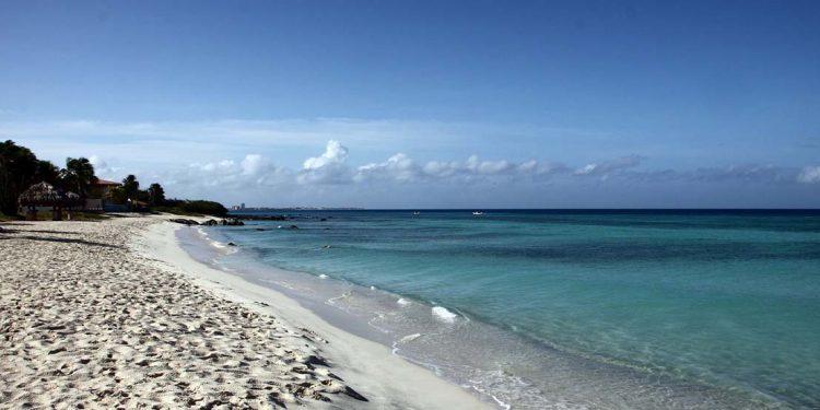 A sandy beach in Aruba.