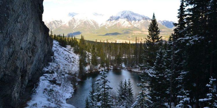 Canmore, Alberta landscape.