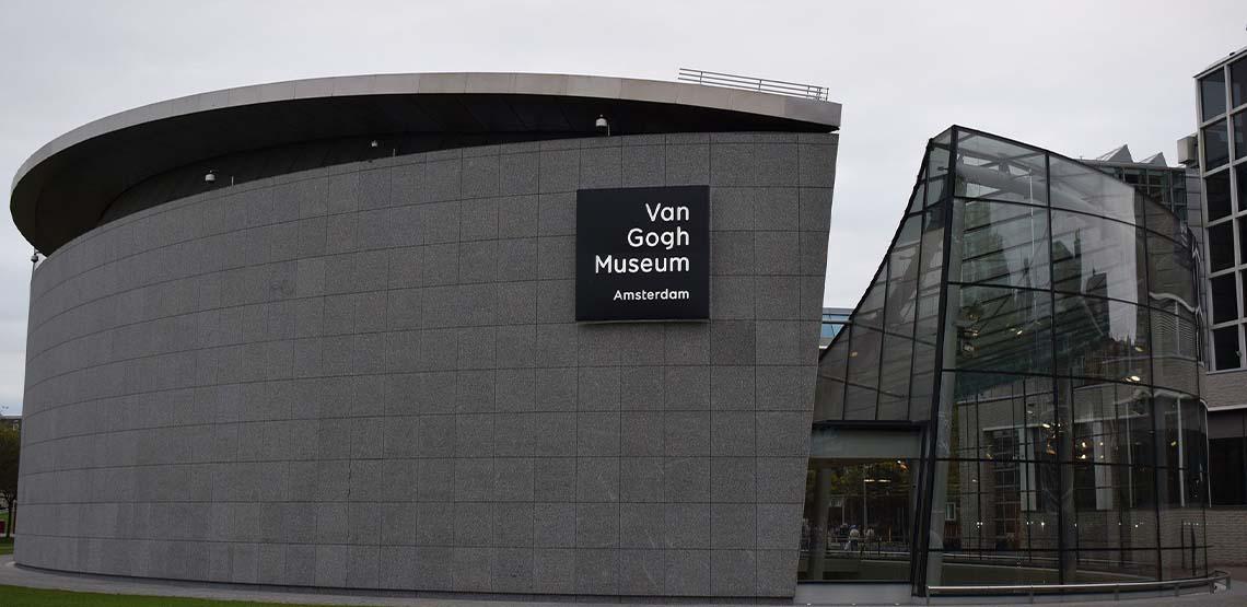 Van Gogh Museum landscape.