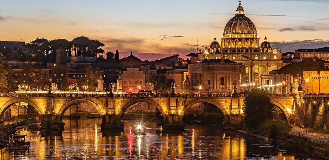 Vatican City landscape.