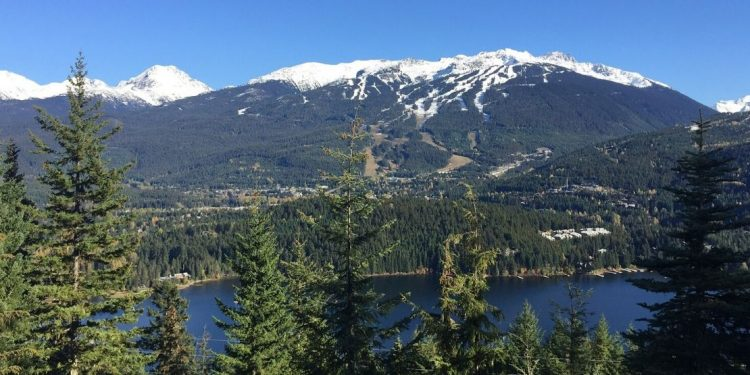 Whistler, British Columbia landscape.