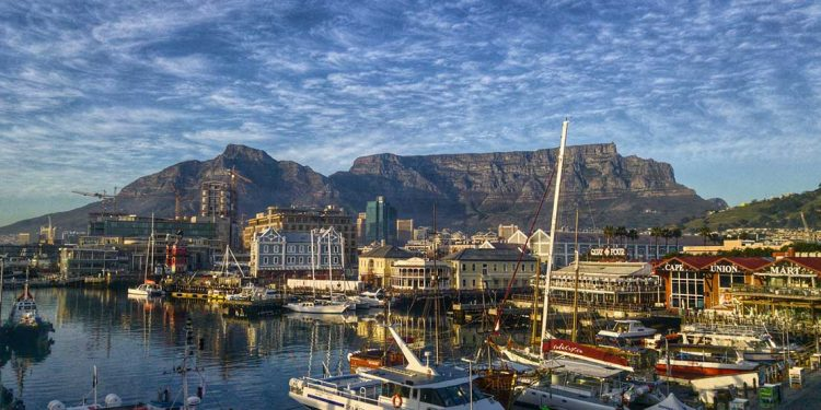 Cape Town, South Africa harbor.